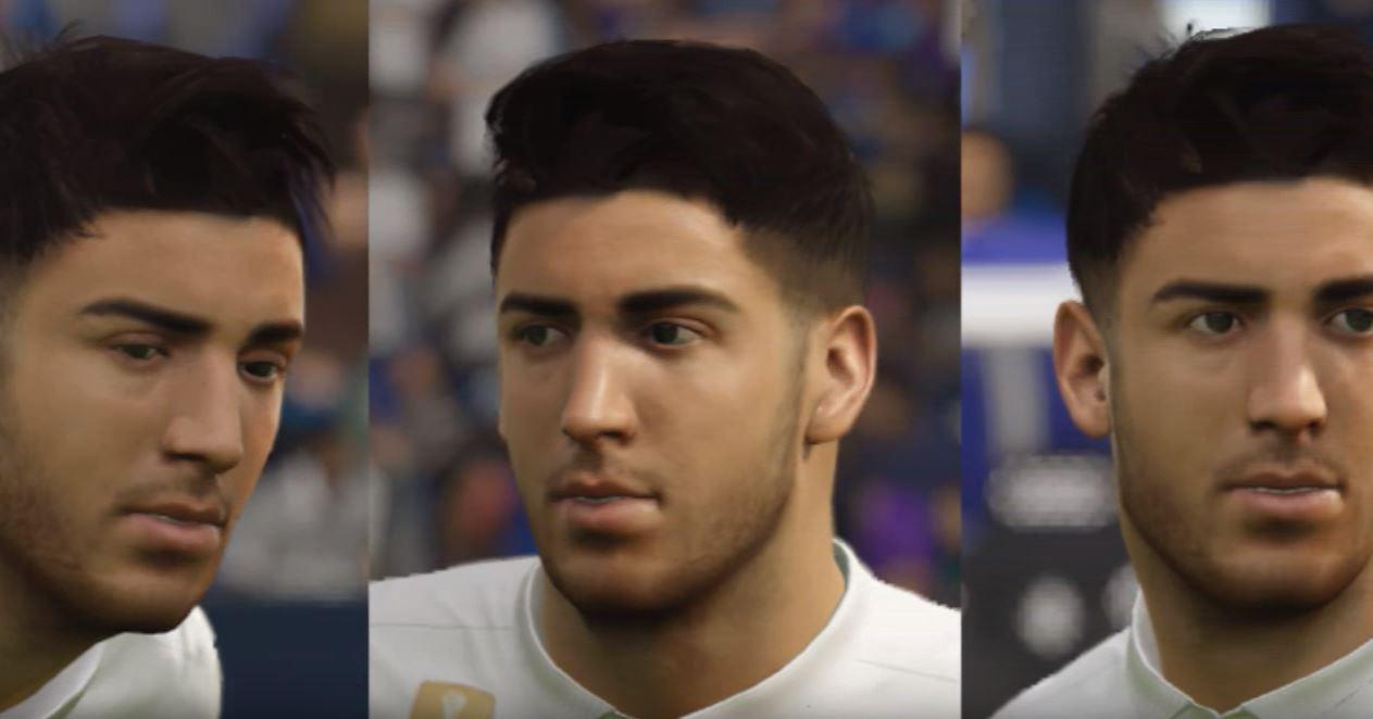 Marco Asensio in FIFA 18 doesn't look much like the real star