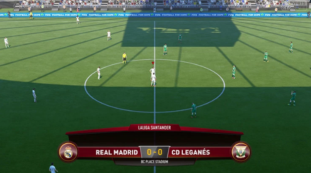 Despite how realistic the pitch patterns were, that still didn't impress FIFA 17 players