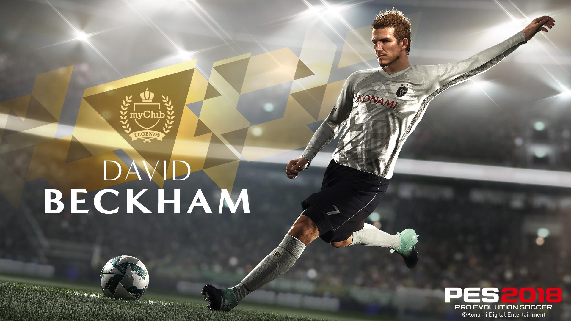 There will be five versions of the star available to play with in the upcoming PES 2018