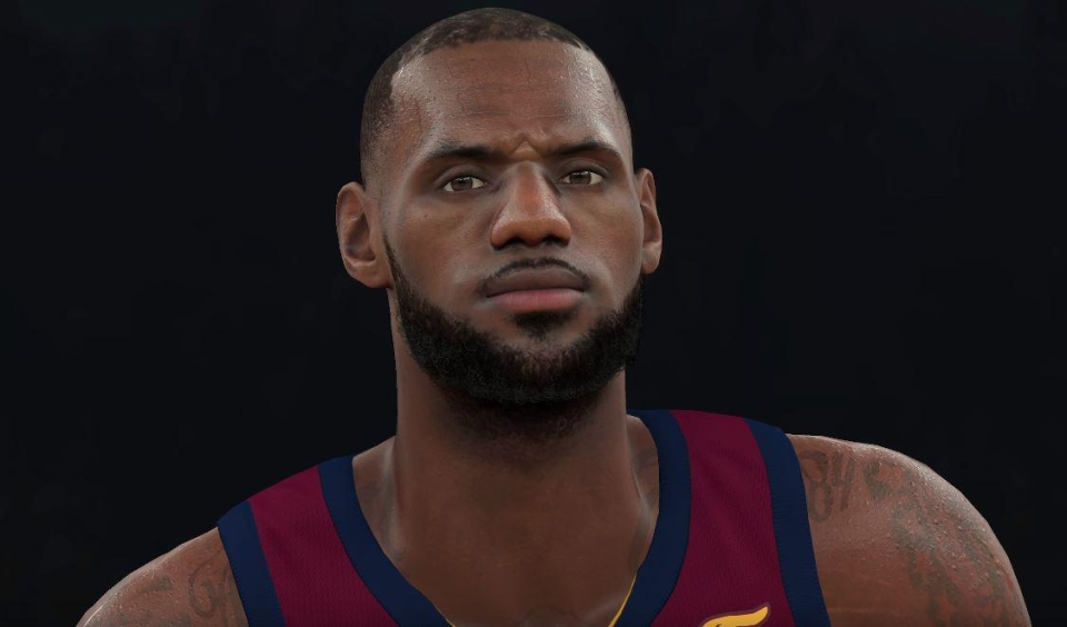 This is the first game to have photo-realistic faces – something not yet achieved in FIFA and PES