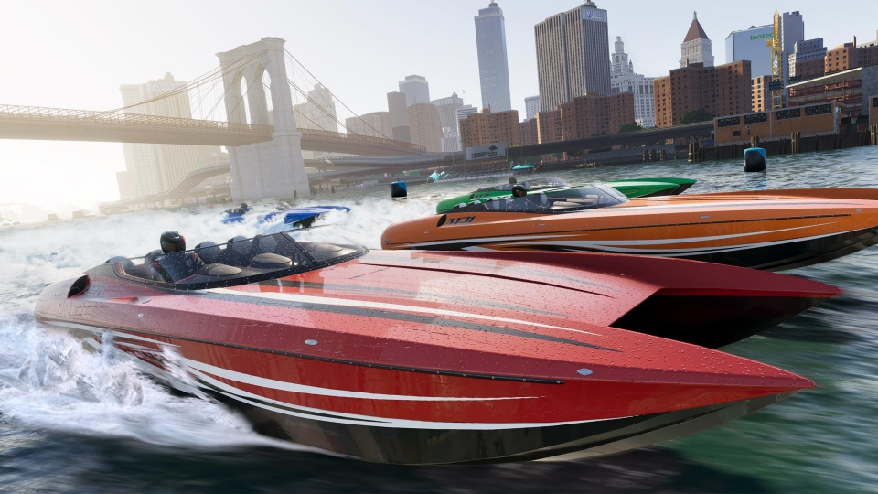 At a touch of a button you can transform into a boat or plane