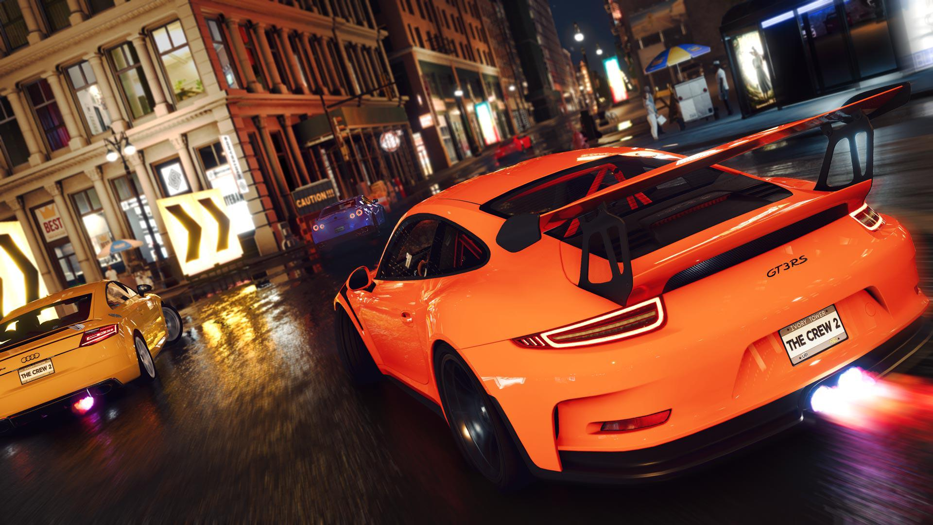 The Crew 2 has a day and night cycle and a vast open world