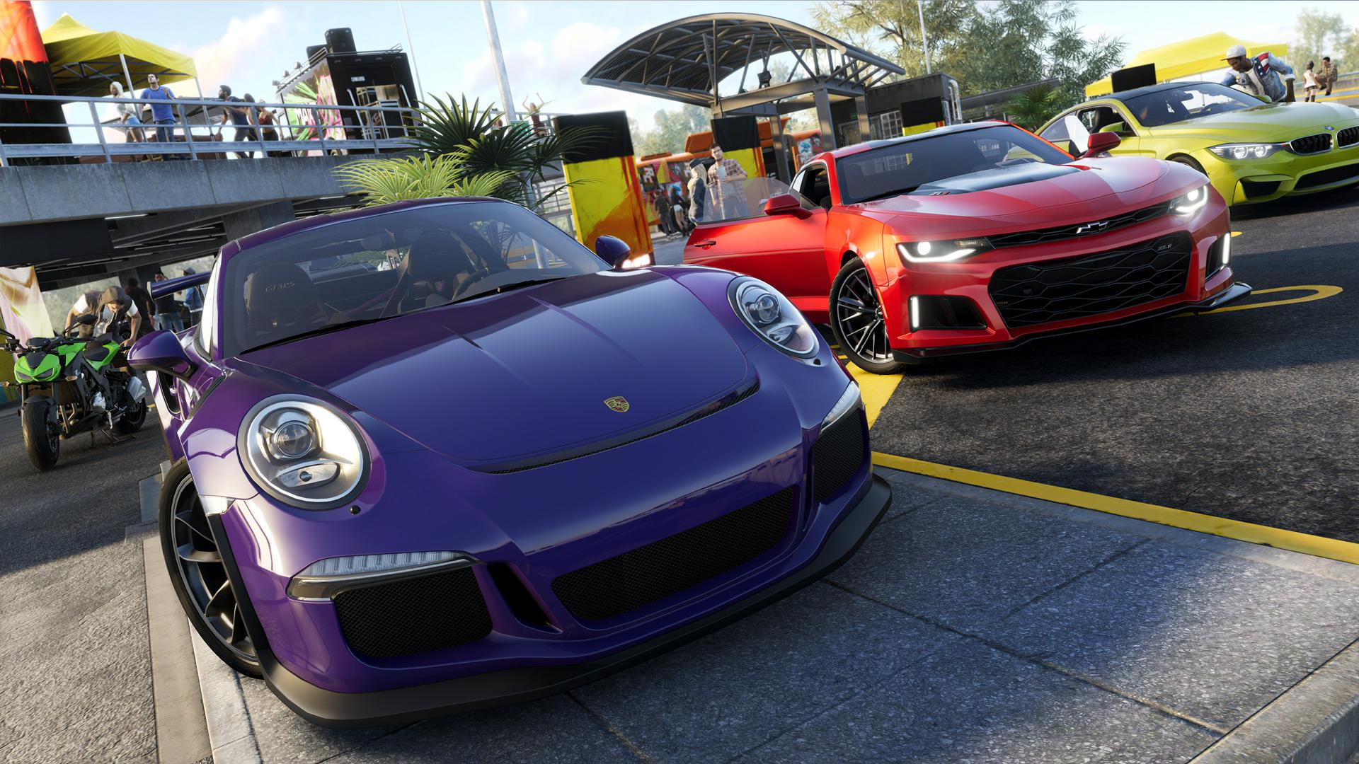 The Crew 2 features loads of fully licensed cars – all with different characteristics and handling