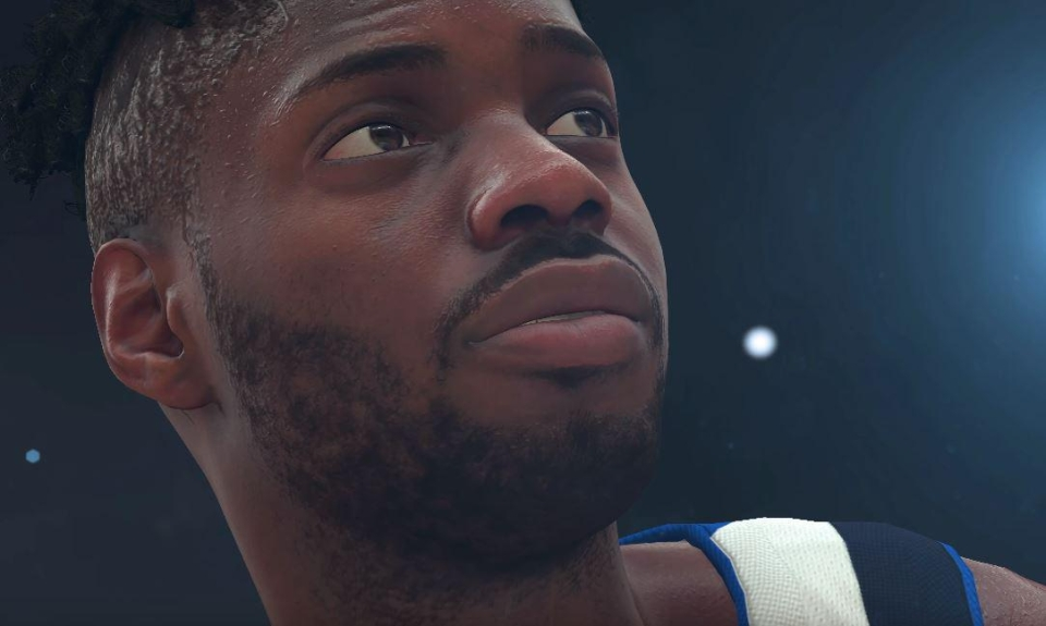 This shot, taken from the trailer, shows the extraordinary level of detail captured by 2K