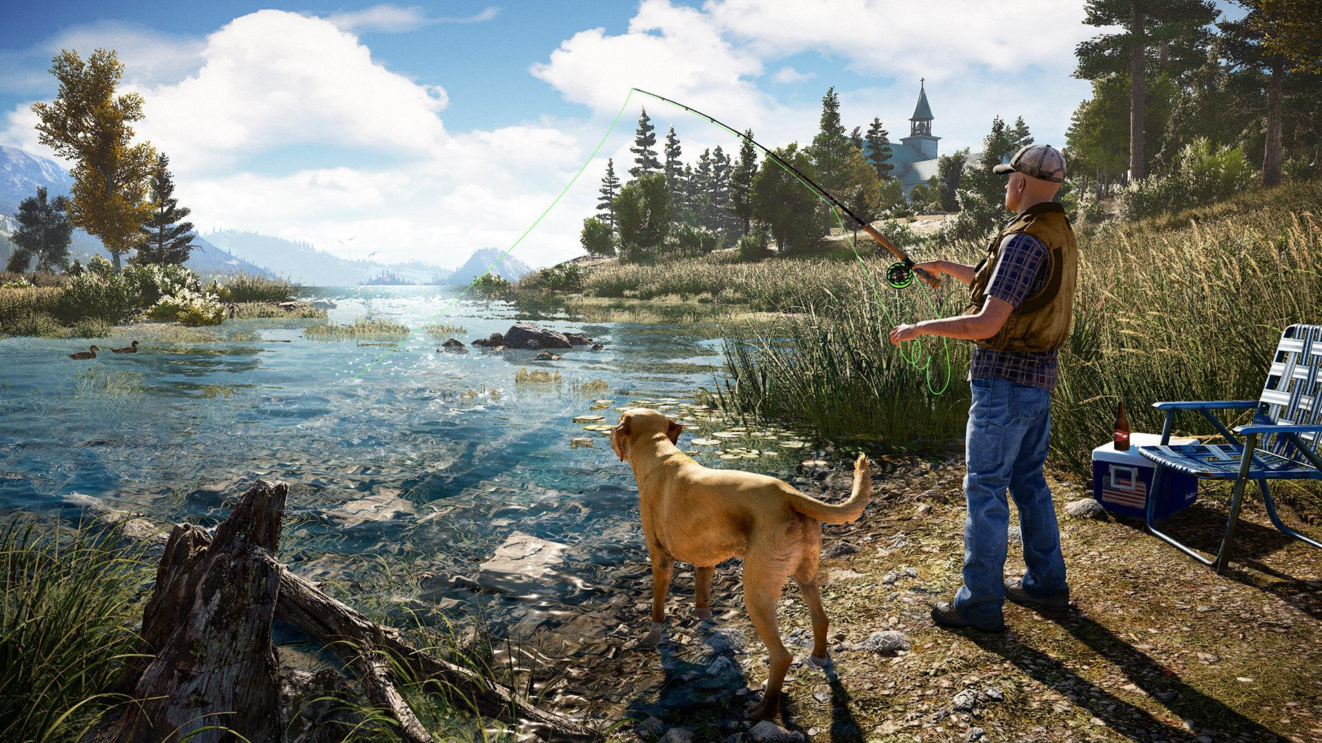 You can go fishing if all the violence gets too much, such is the level of detail