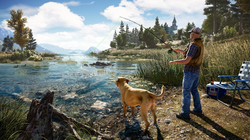You can go fishing if all the violence gets too much, such is the level of detail in the game world