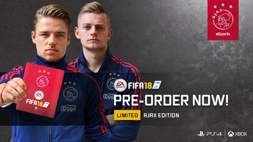 You can buy the bespoke edition from the Ajax official shop