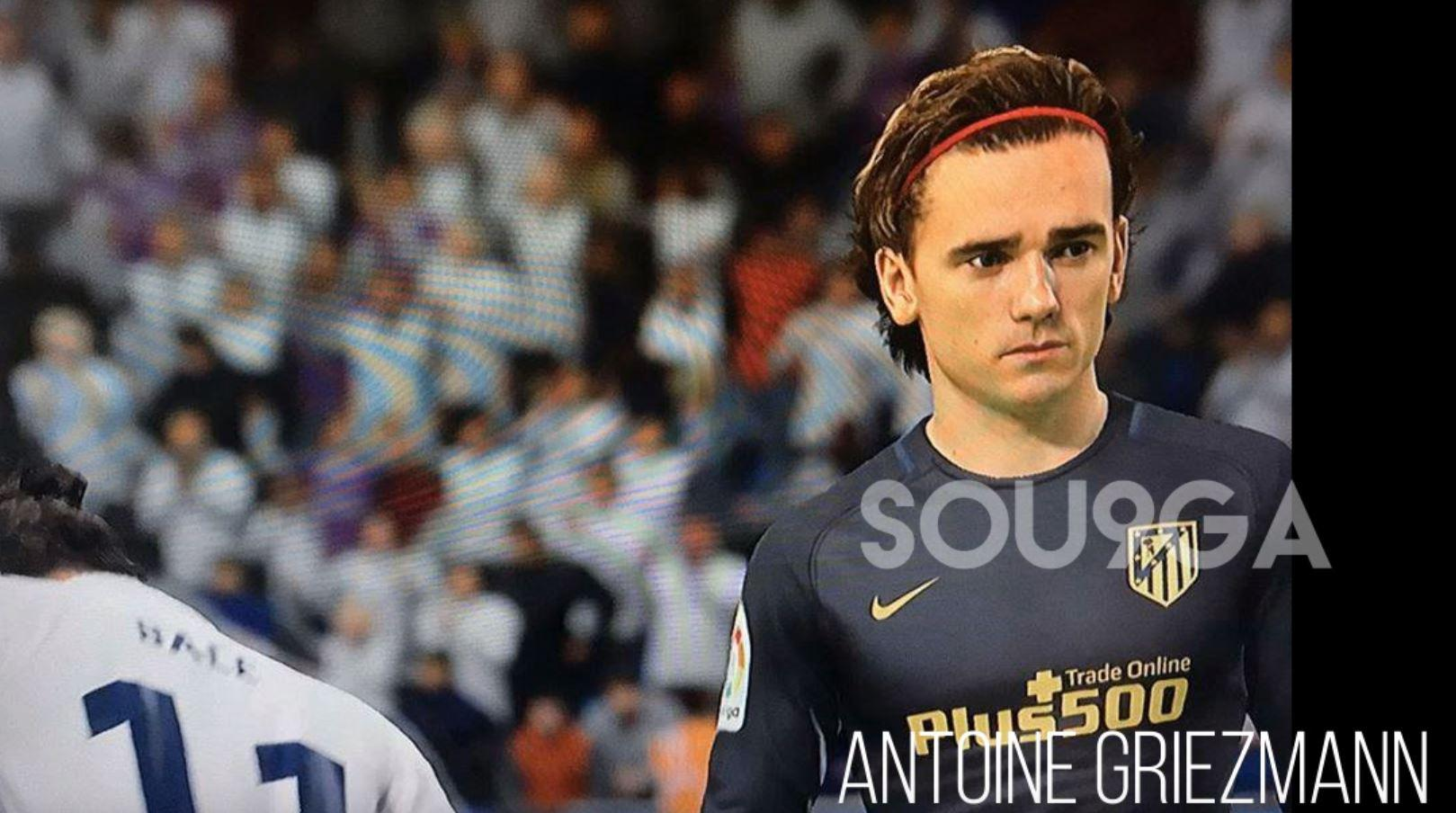 Antoine Griezmann is one of the stars who appears in the leaked FIFA 18 video