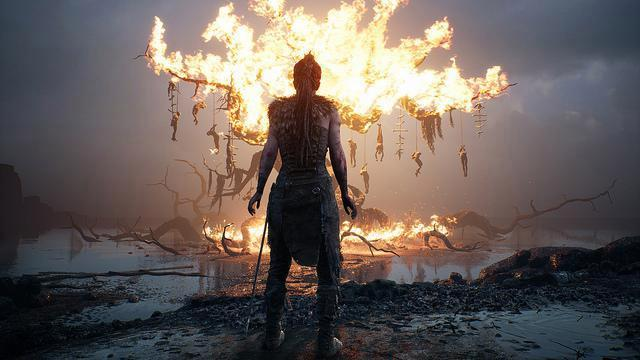 Hellblade's visuals are outrageously gorgeous