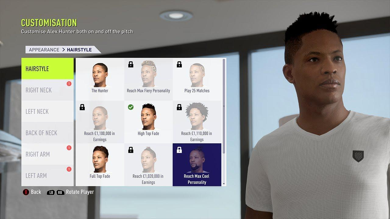 Customisation was limited in FIFA 18 so we'd want even more this year