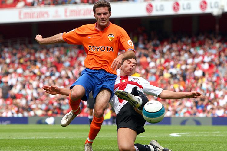 Fatic had the honour of playing in the Emirates Cup for Inter