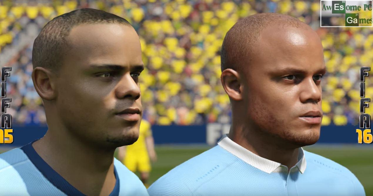 Kompany still looked decent back in FIFA 15 but improves massively in the following year's game