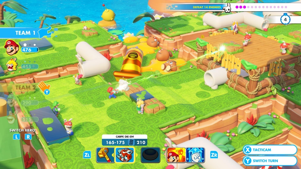 Playing with a friend is so much fun in Kingdom Battle