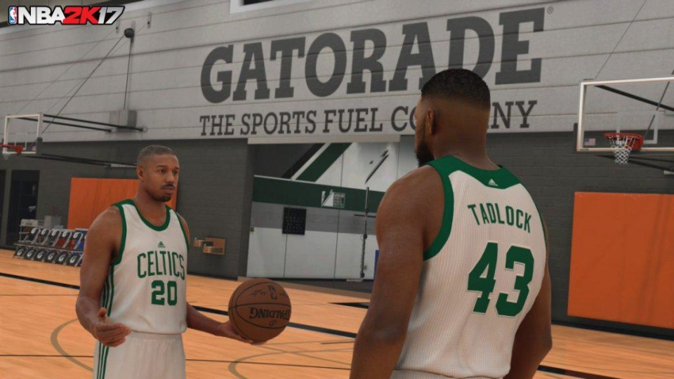 NBA2K17's MyCareer was arguably better put together than FIFA 17's The Journey