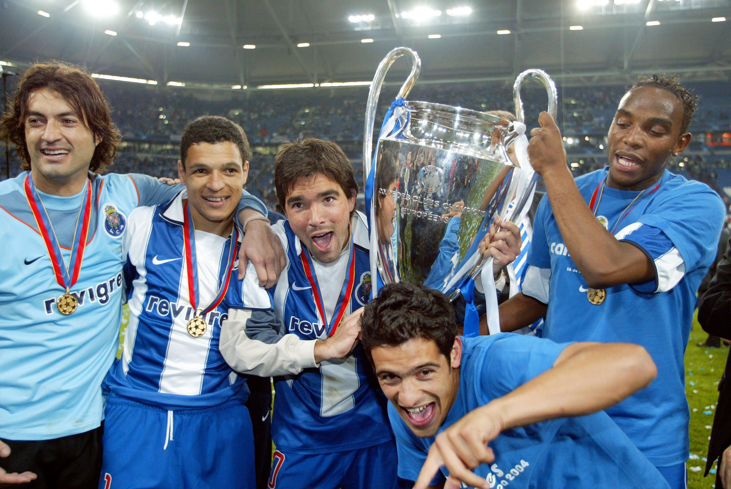 Together, they won the treble at Porto