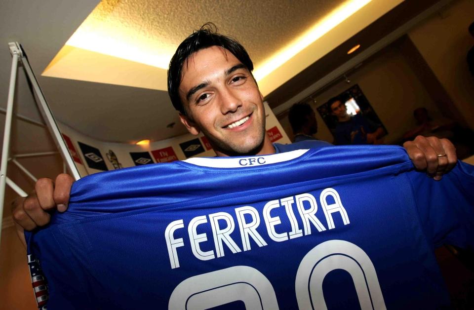Ferreira became an instant first-team regular at Chelsea