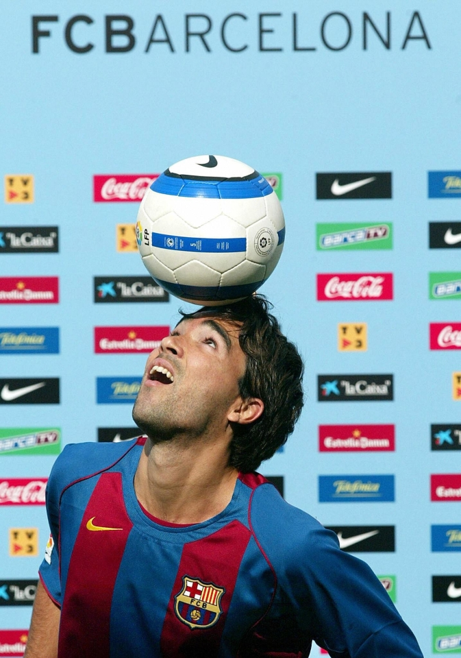 Deco won further honours at Barcelona – including the Champions League