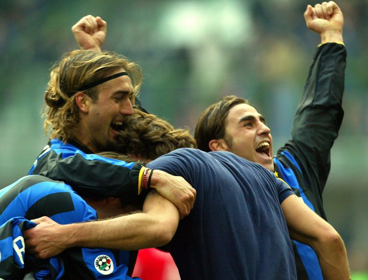 Fabio's just heard that he's leaving Inter
