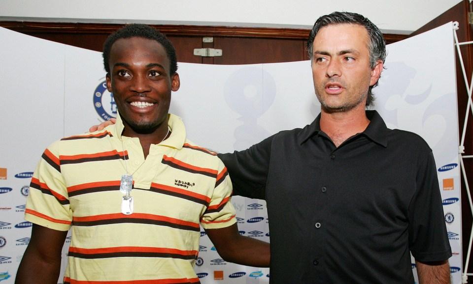 Mourinho finally got his man in 2005
