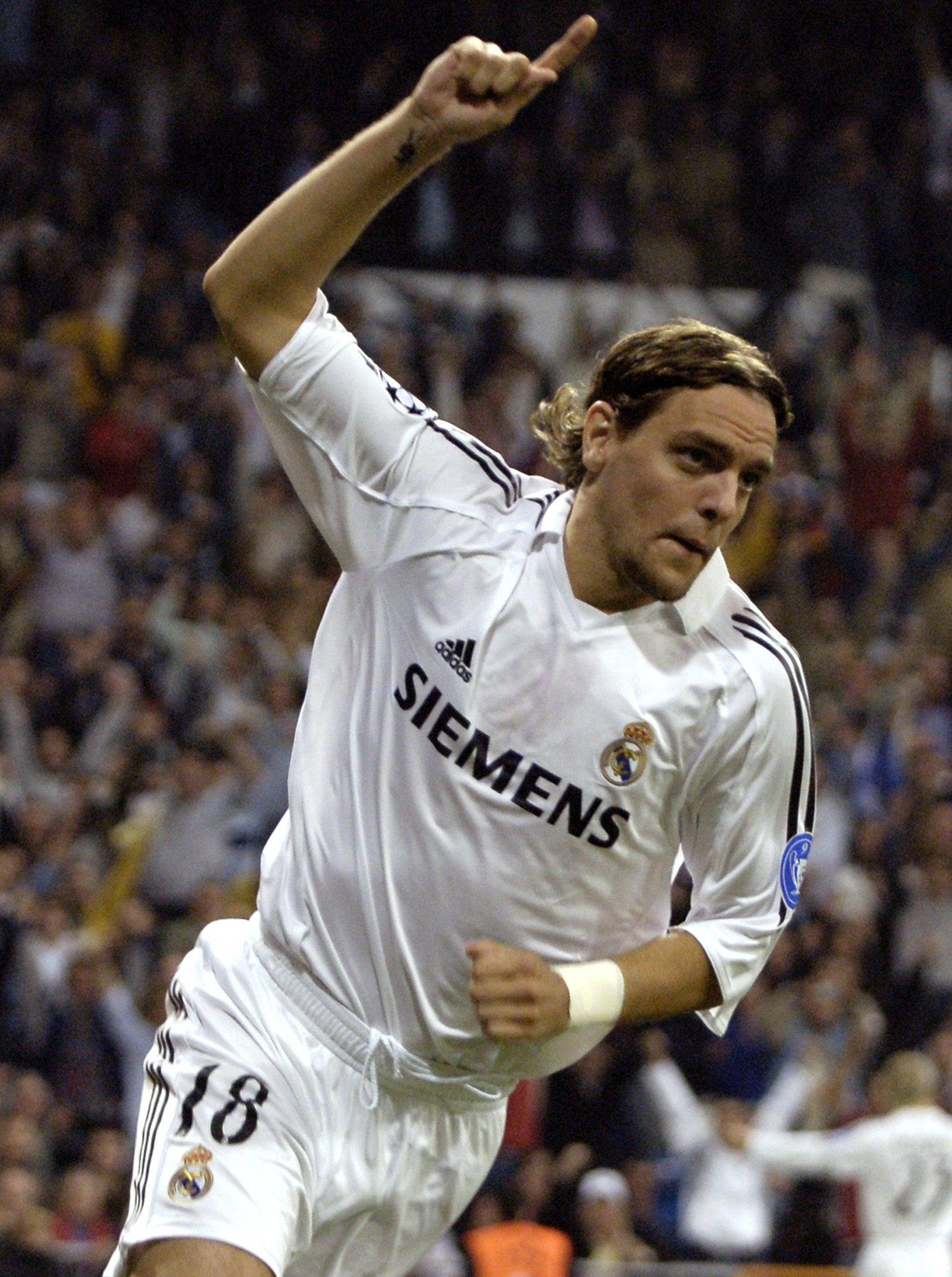 He did score one goal for Madrid in Europe