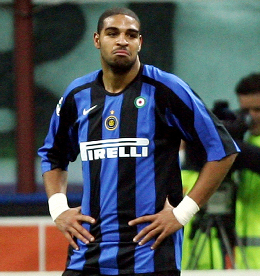 Adriano suffered with weight problems and surrendered to a life of excess