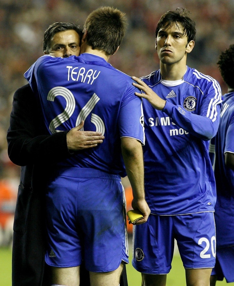 He was a big part of the original Mourinho side that won two Premier League titles