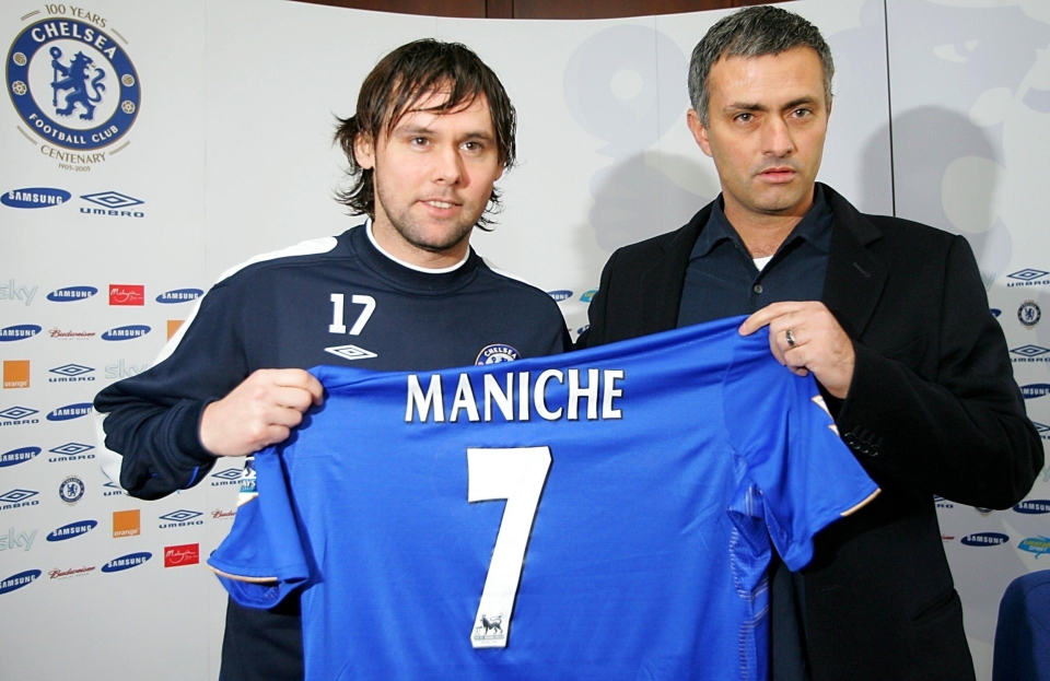 Maniche had a brief spell under Mourinho at Chelsea