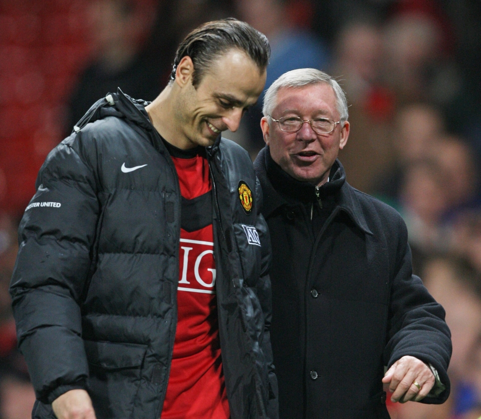 Berbatov and Fergie