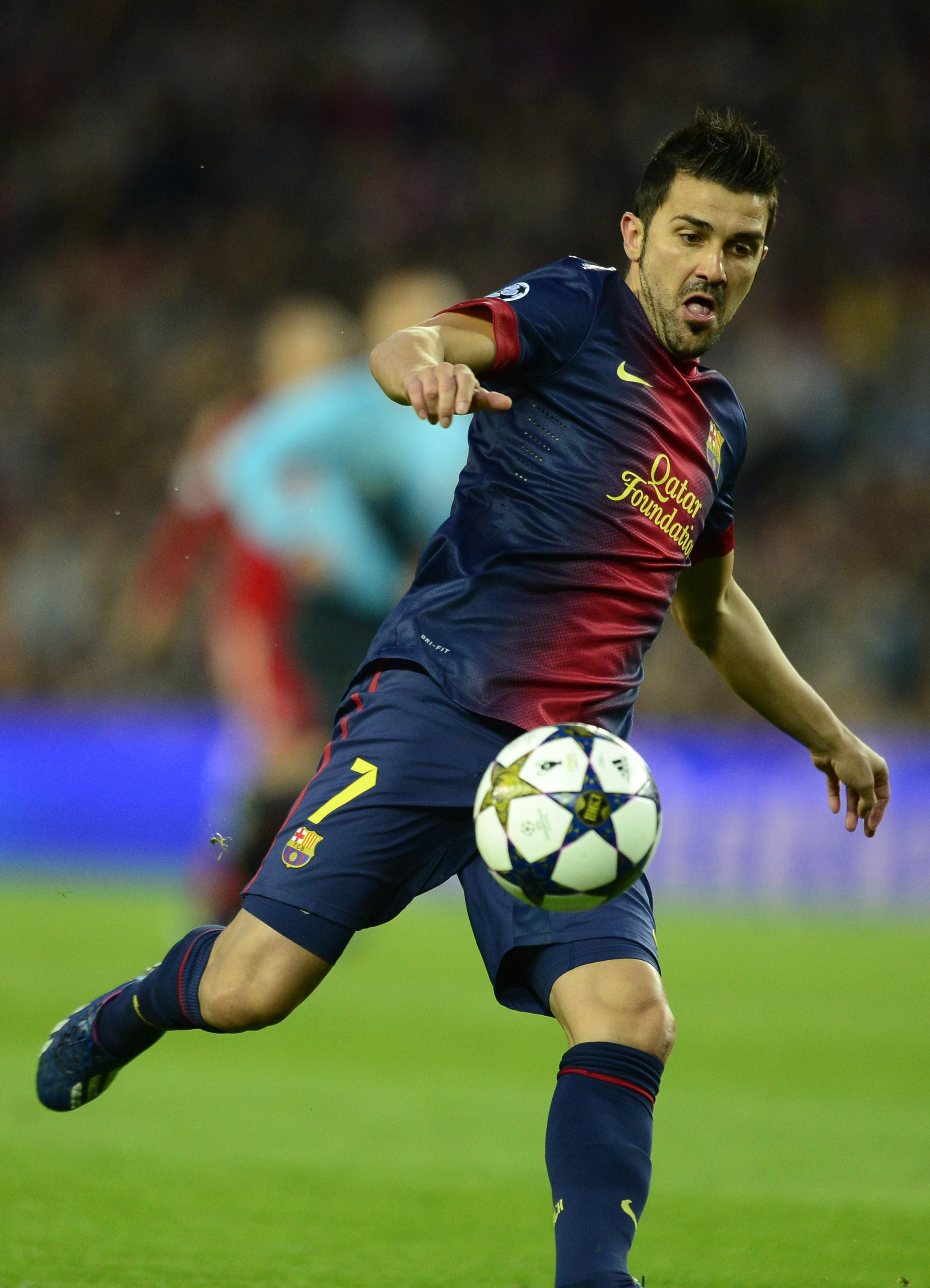 Villa was incredible for Barca and is still a force aged 35