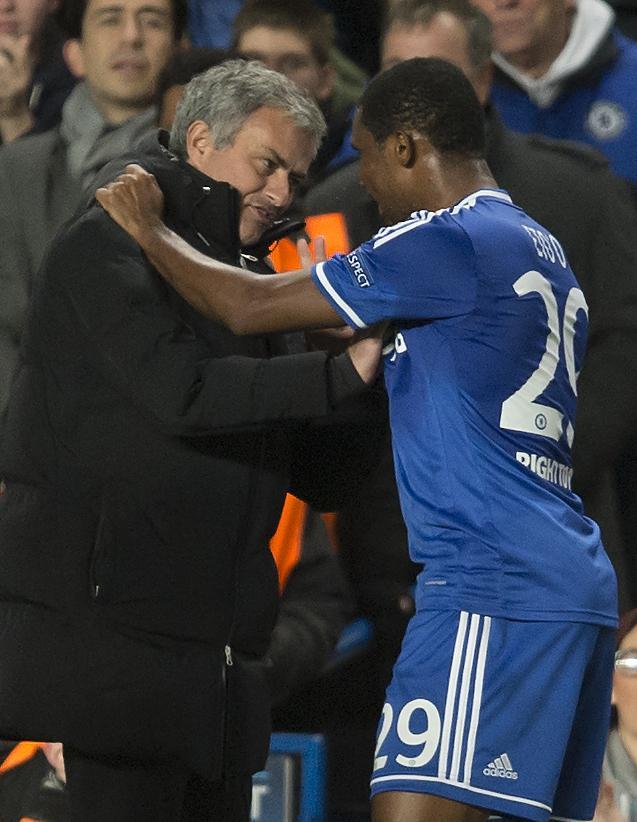 Eto'o had a fairly un-inspiring spell at Chelsea
