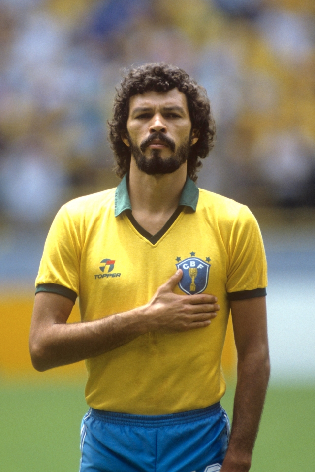 Socrates was widely regarded as one of the greatest midfielders ever – he passed away in 2011