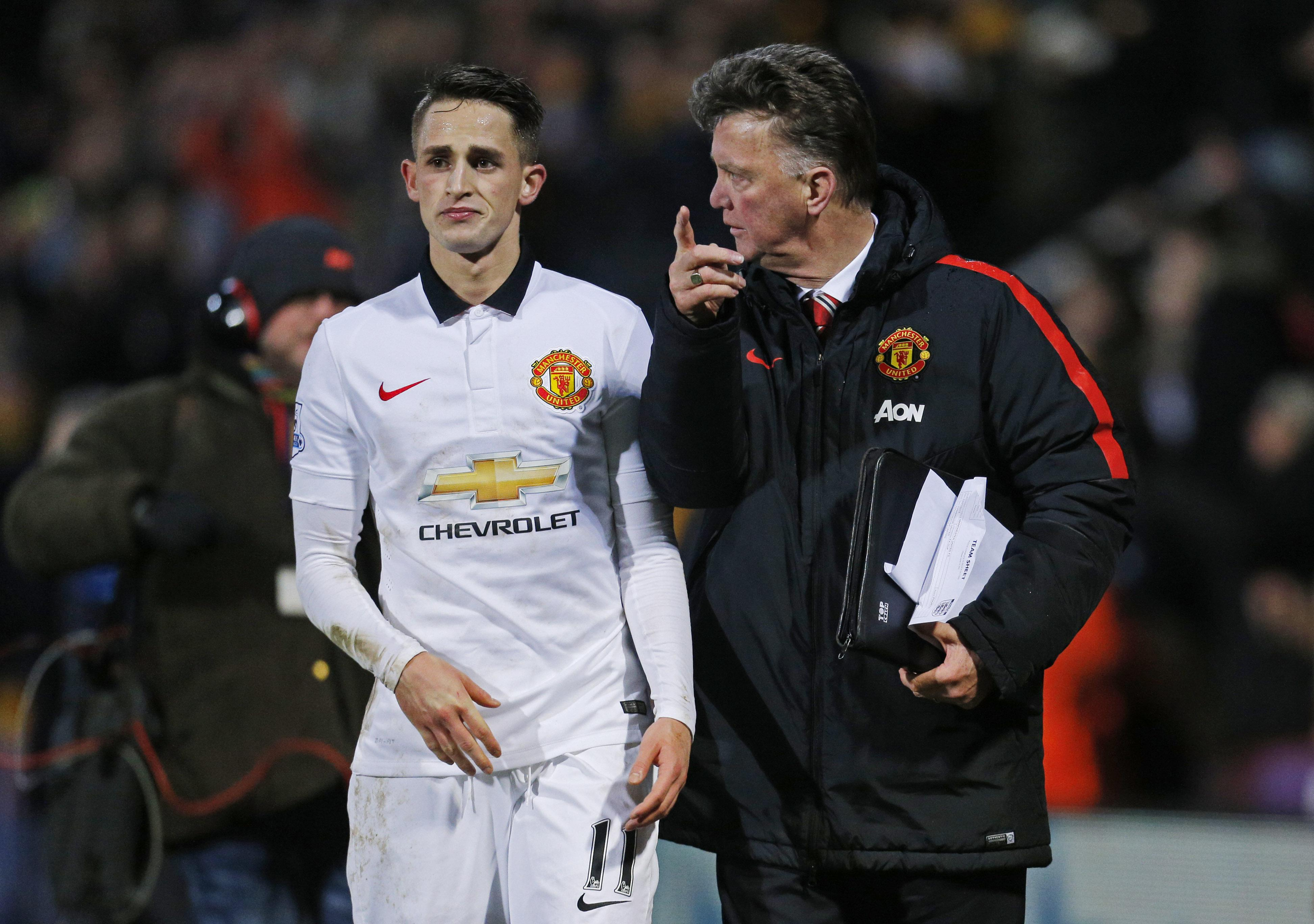 Louis Van Gaal often criticised the youngsters attitude and work rate