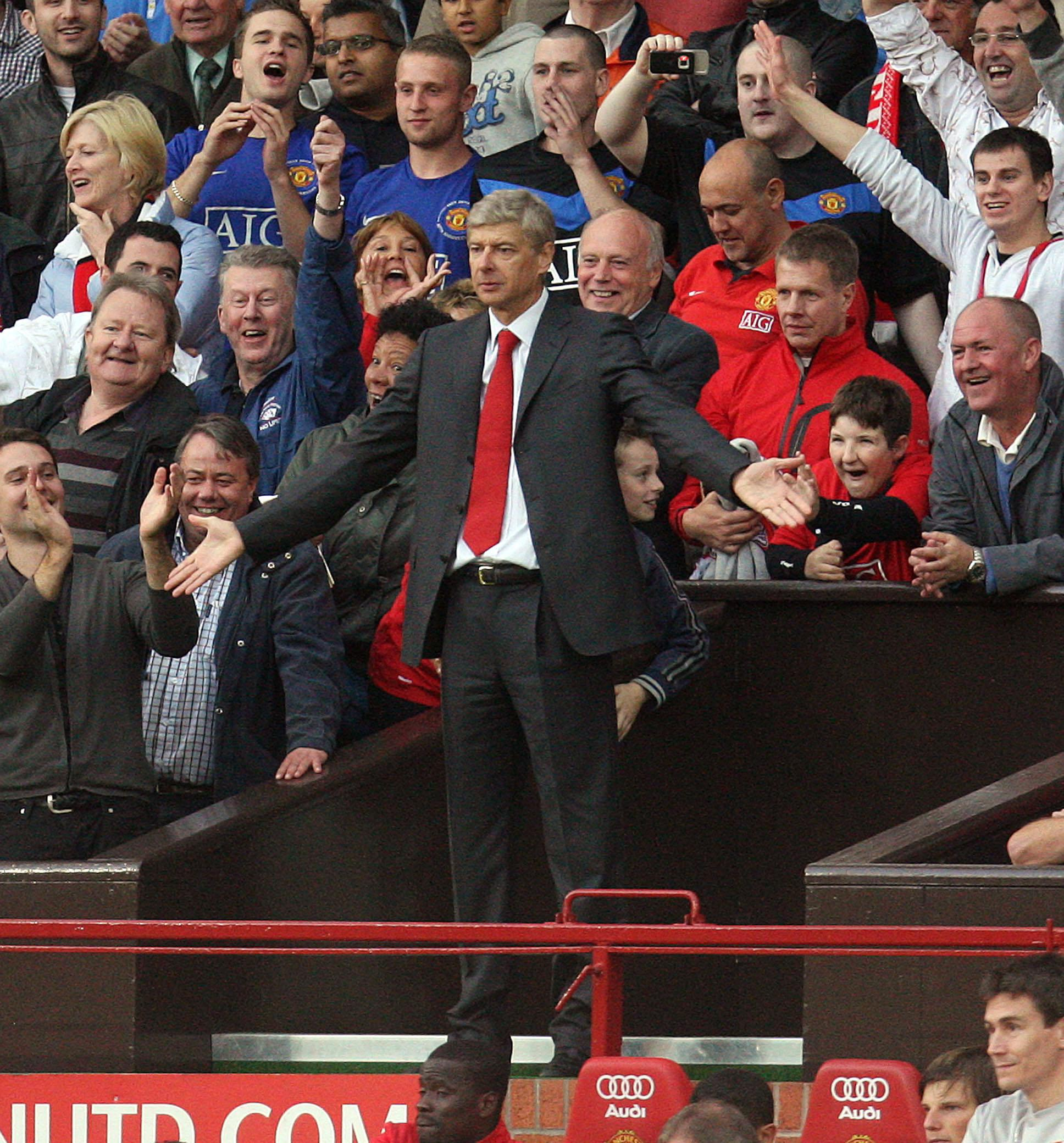 Why always you, Arsene?