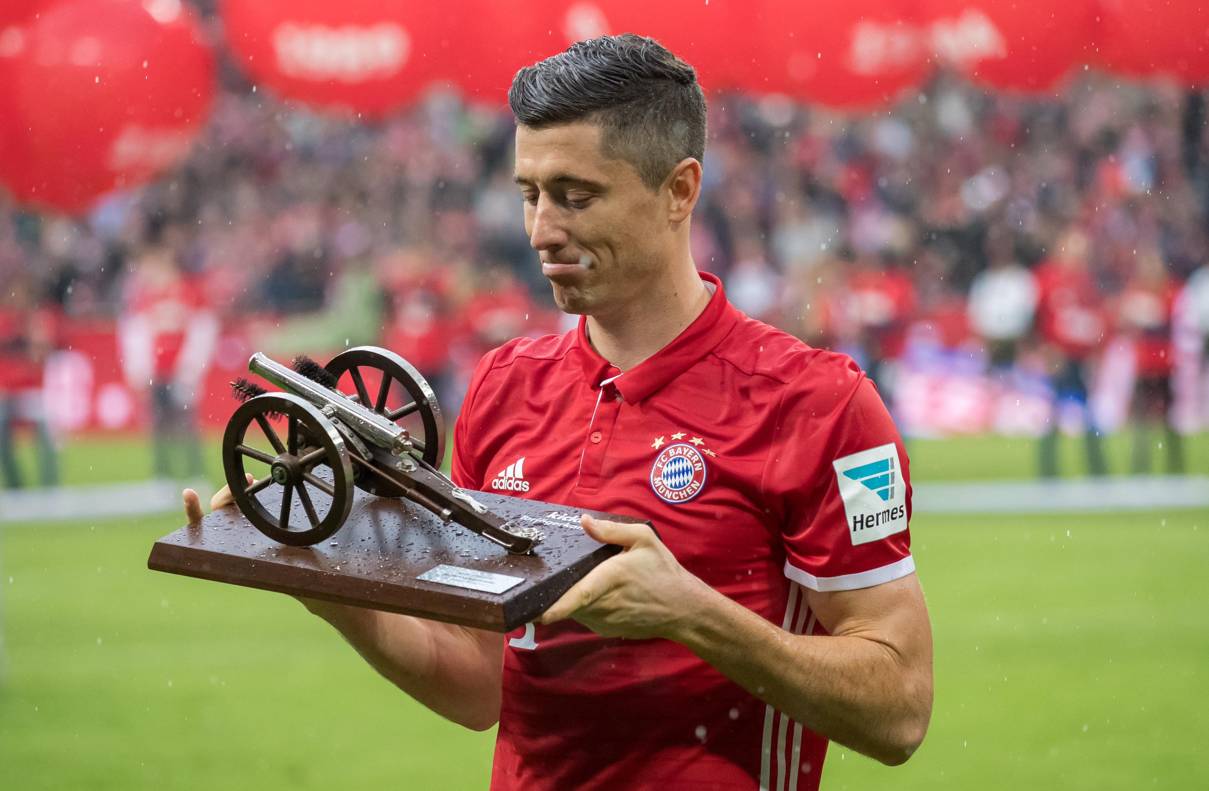 In Germany, instead of a Golden Boot you get a CANNON!