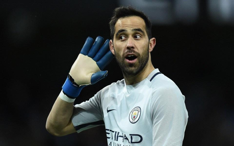 Manchester City flop Claudio Bravo was heavily criticised last season
