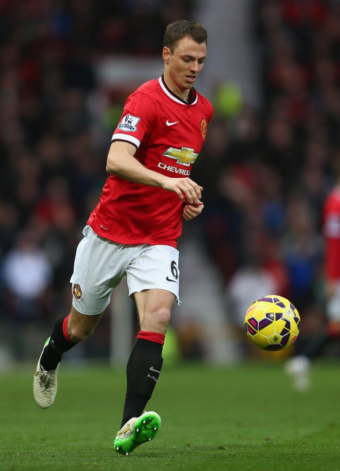 Jonny Evans played nearly 200 times for Manchester United before he was sold to West Brom