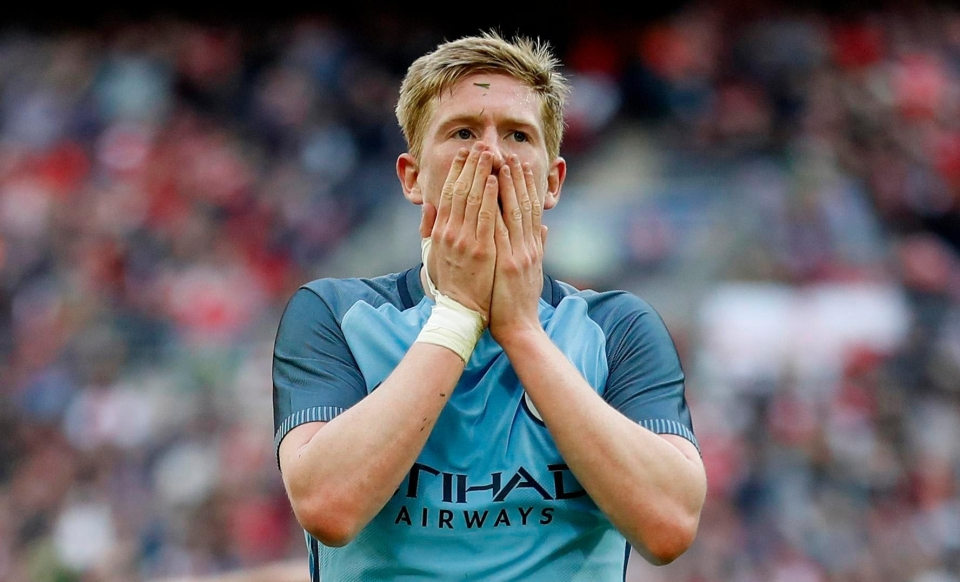 Kevin De Bruyne has yet to burst into life this season