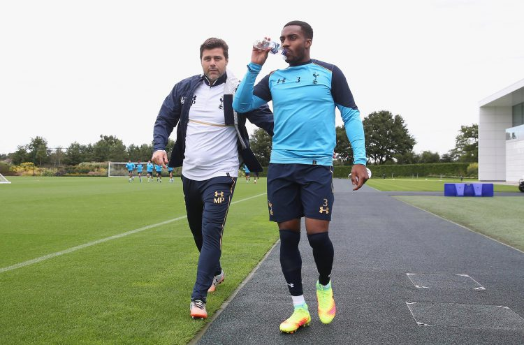 Danny and the gaffer in happier times
