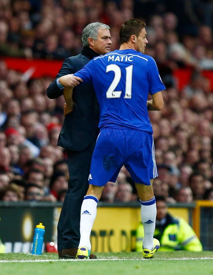 matic was a key member of Chelseas Premier League title in 2014-15