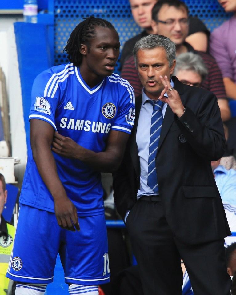 Lukaku struggled for games at Chelsea