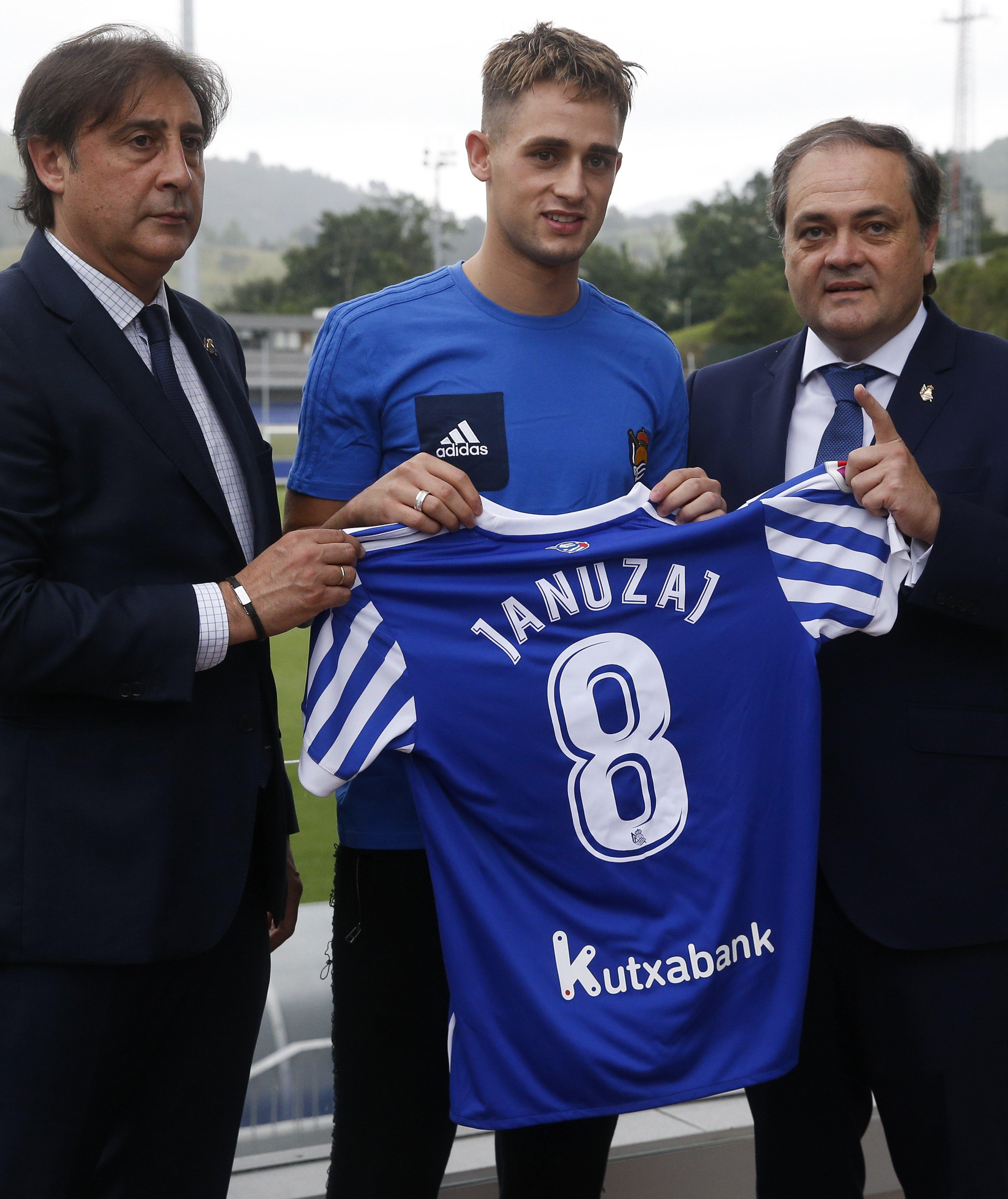 Januzaj joined Real Sociedad for £8million last month