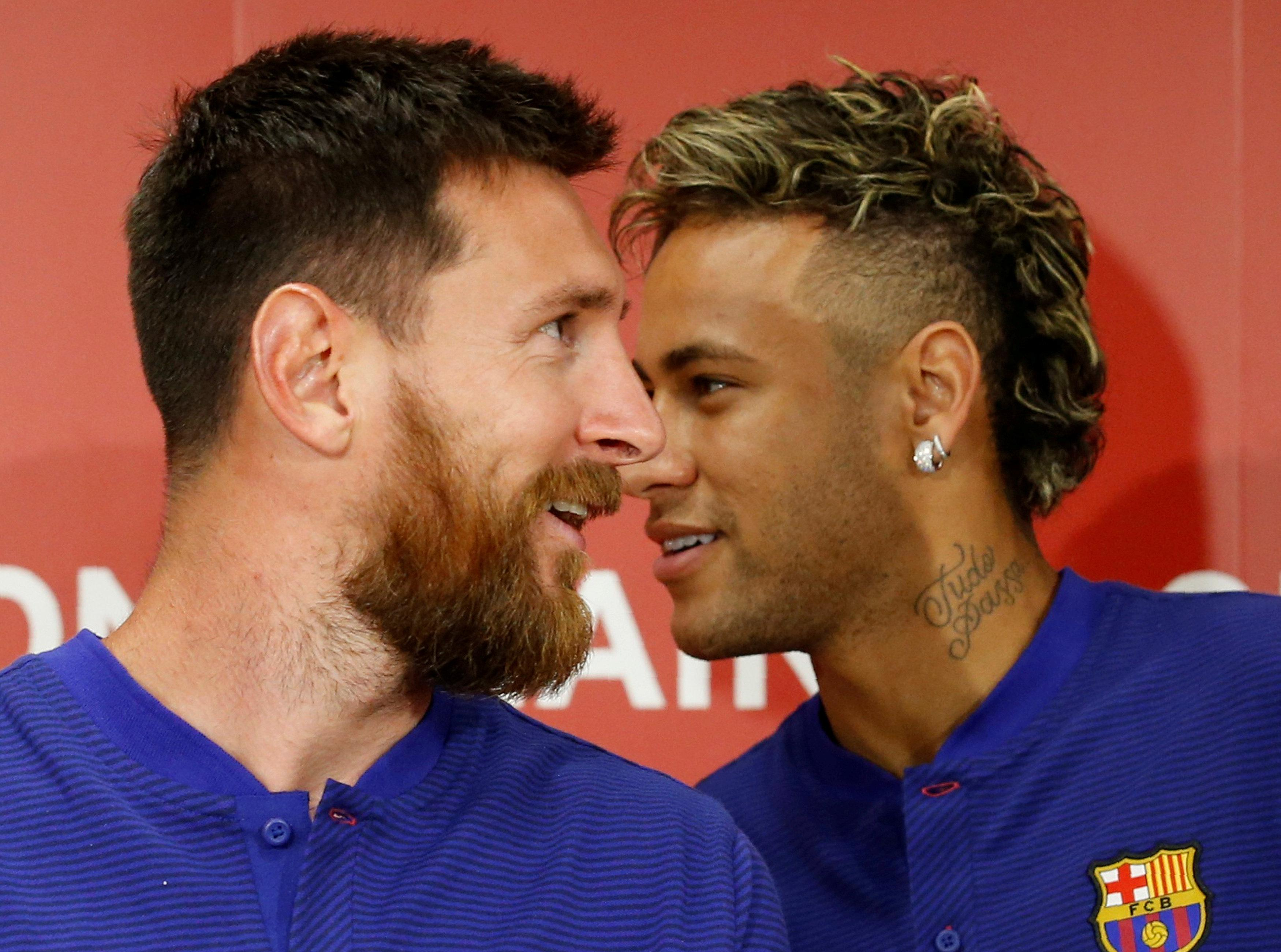Messi's shadow looms over Neymar