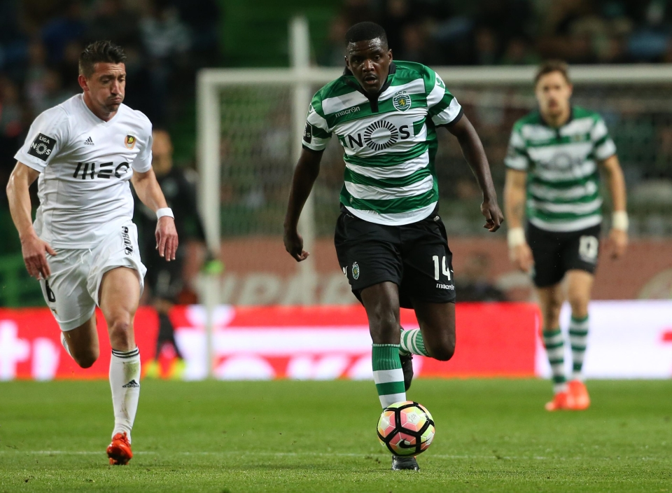 The midfielder is not in Sporting Lisbon's Champions League squad