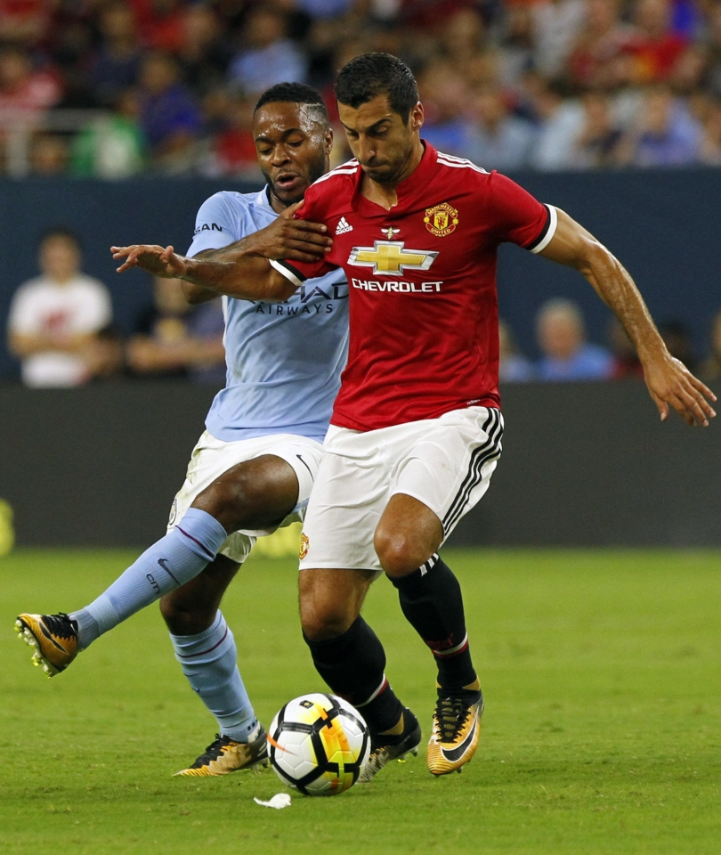 The incident occurred 24 hours after Man City's friendly against Man United