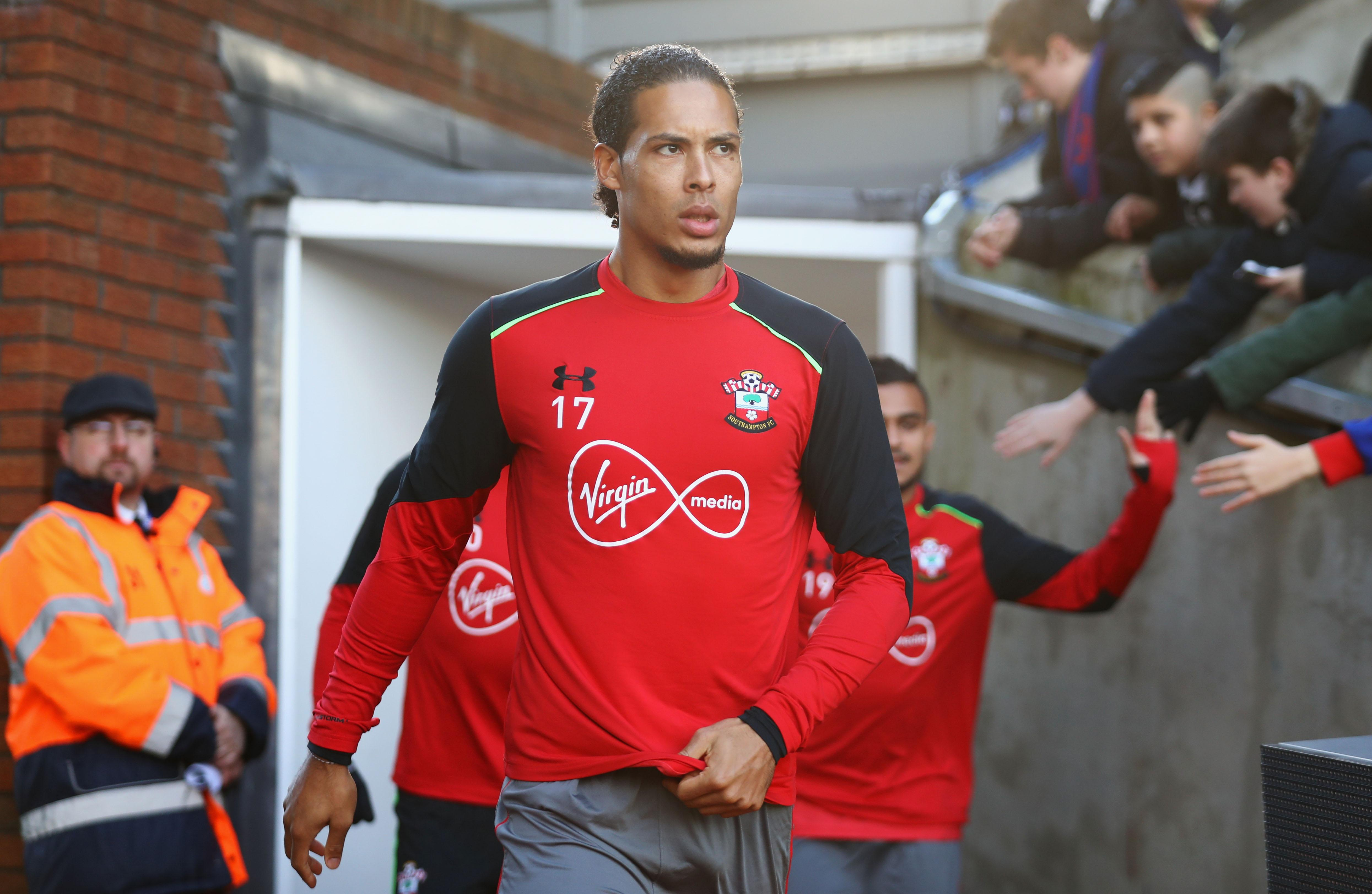 Southamtpon reported Liverpool's approach for Virgil Van Dijk to the Premier League