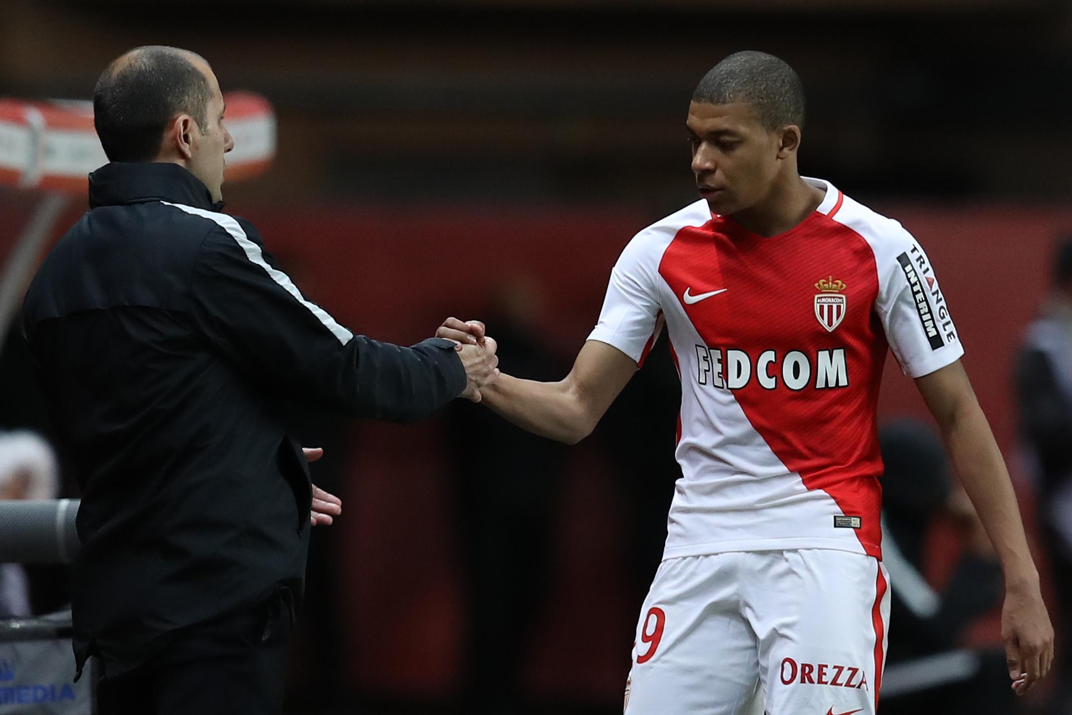 Mbappe scored 15 goals in Ligue 1 last season