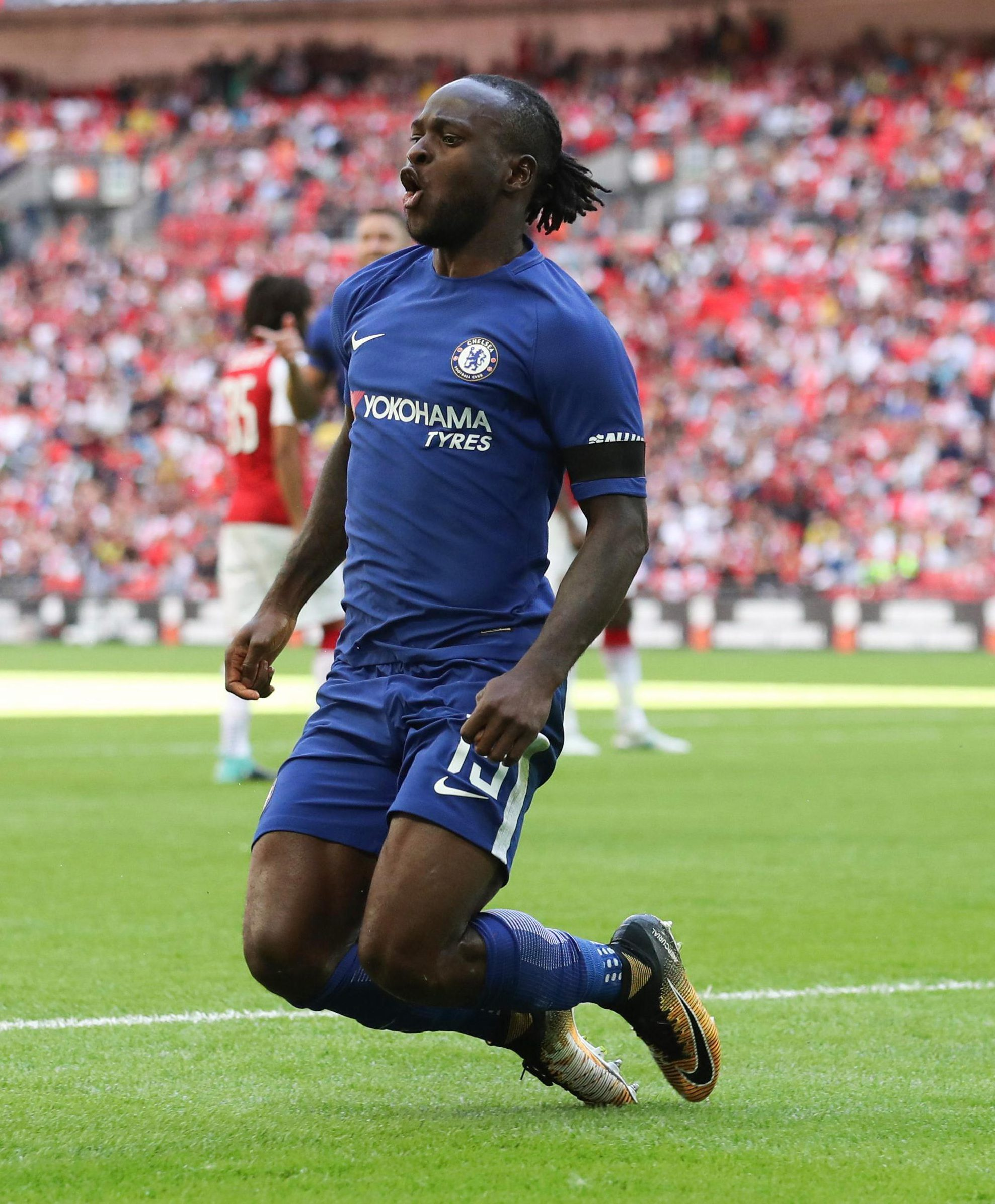 Victor Moses scored the opener