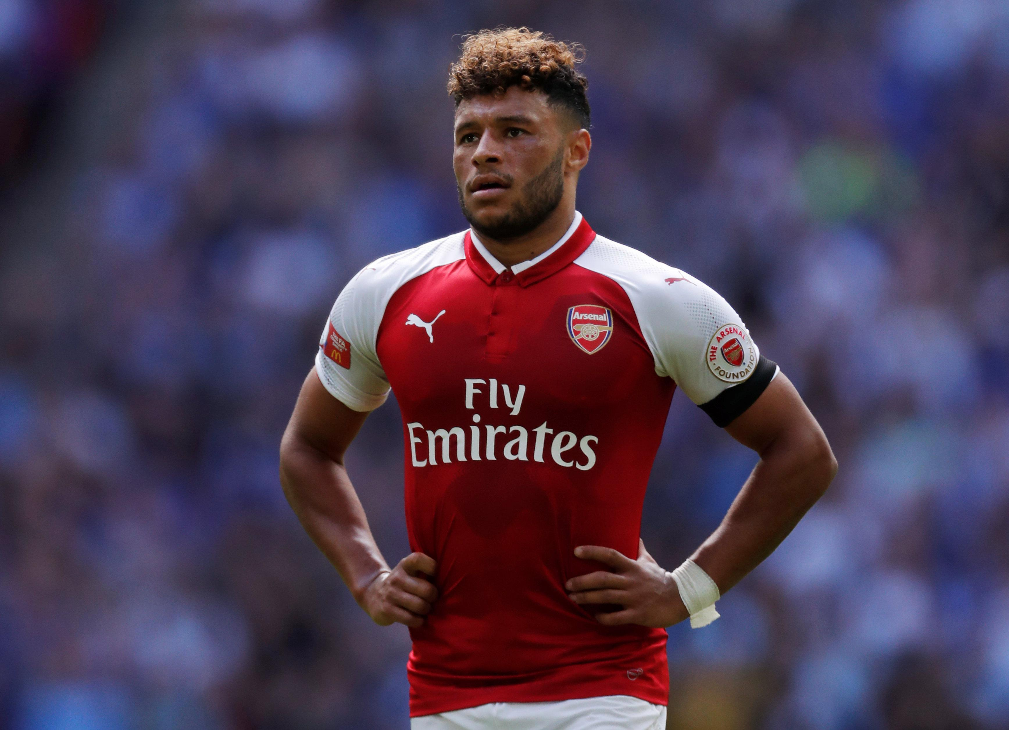 Alex Oxlade-Chamberlain hinted he is heading for Liverpool