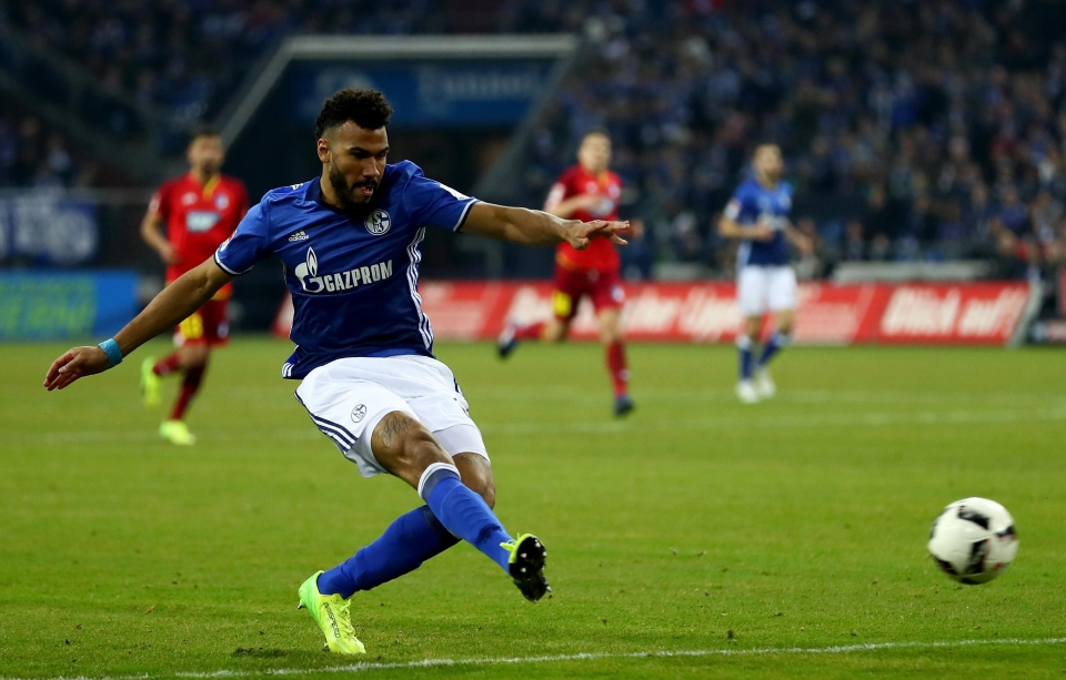 Choupo-Moting was signed as a replacement for Marko Arnautovic