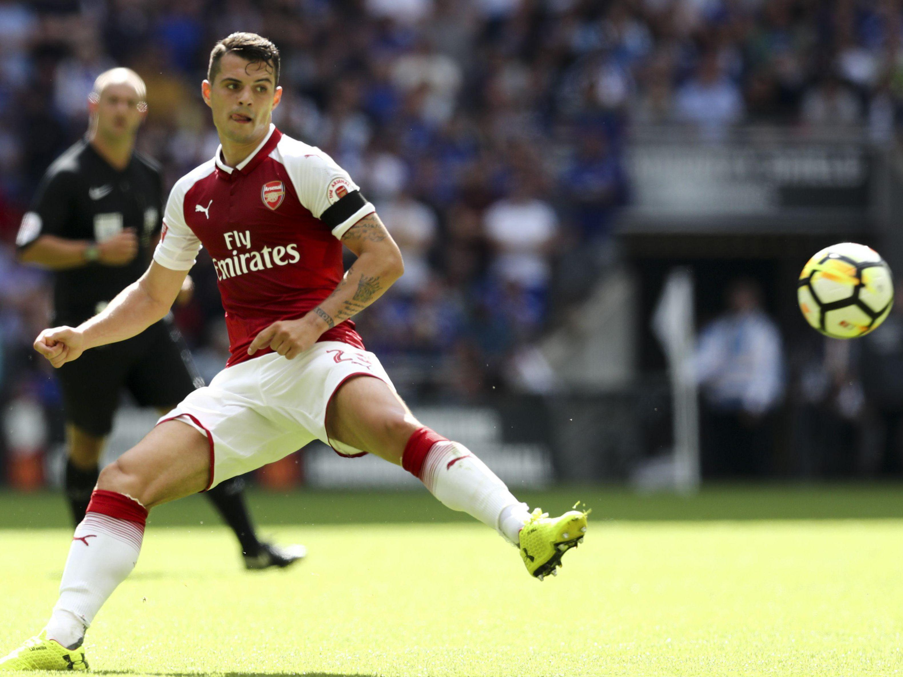 Granit Xhaka has received barrages of abuse